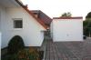Freistehende Einzelgarage für ein Einfamilienhaus