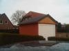 Einzelgarage mit Sectionaltor und Satteldach